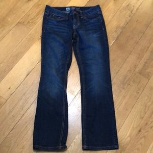 Mossimo boot cut jeans size 4 short EUC